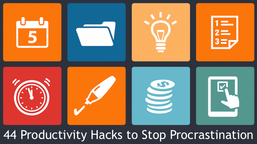 44 Productivity Hacks to Turn Procrastination Into Action