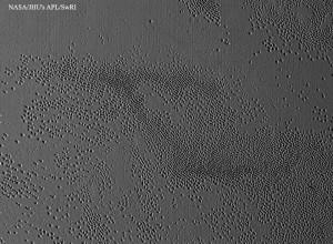 Unusual Pits Discovered on Pluto