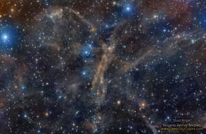 A Dust Angel Nebula