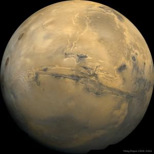 Valles Marineris: The Grand Canyon of Mars