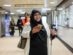 This Google-backed project is helping blind people navigate cities using only their smartphones