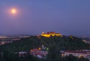 Full Moon over Brno