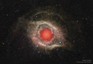 The Helix Nebula in Infrared