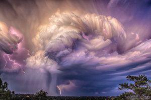 Lightning over Colorado