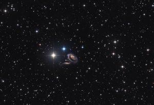 Peculiar Galaxies of Arp 273
