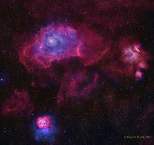 A Sagittarius Triplet