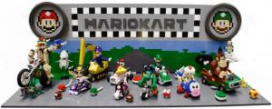 This AWESOME Mario Kart Lego is the blue shell of builds