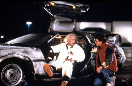 Backtothefuture delorean New Year 8211 What could it Bring