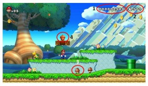 Level 1 300x175 Super Mario Work