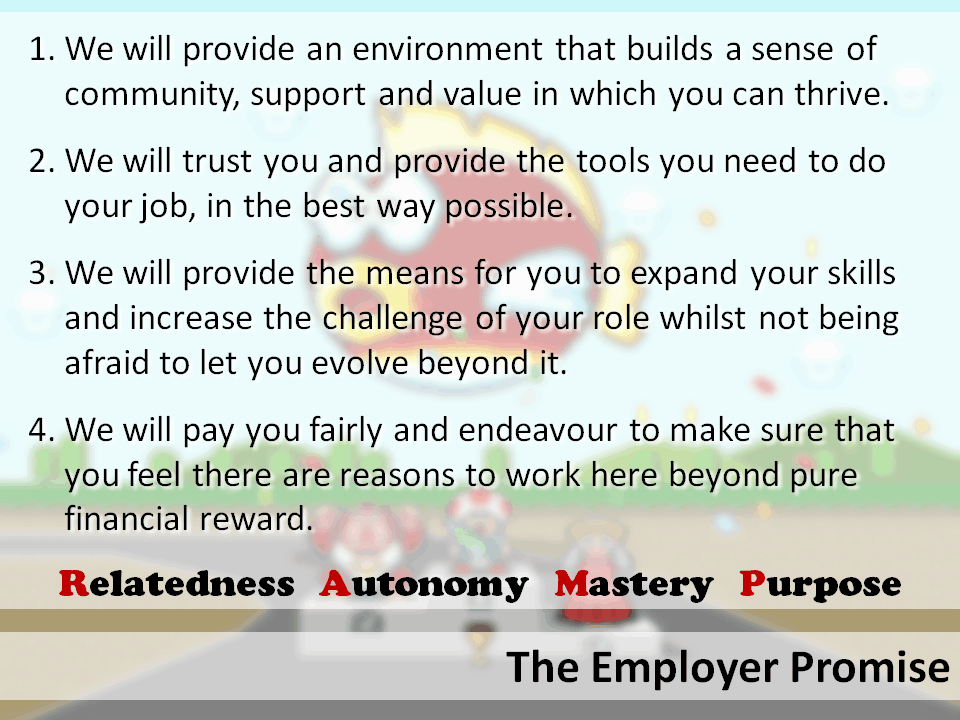 employer promise
