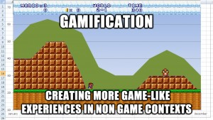 Gamification mario chart