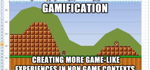 Gamification mario chart 520x245 Defining gamification 8211 what do people really think