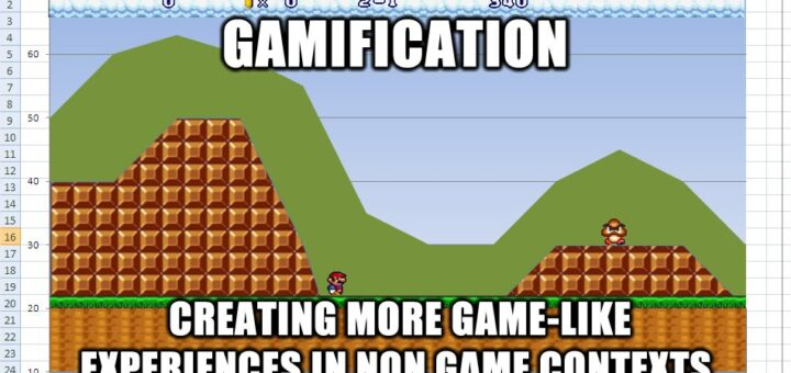 Gamification mario chart 720x340 Defining gamification 8211 what do people really think