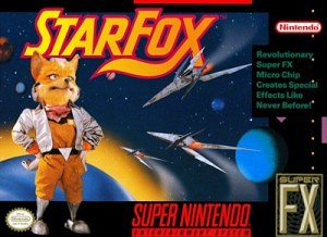 Star Fox SNES 300x218 Star Fox SNES