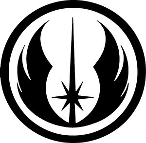 Jedi logo decal 87463 Looking back at my life 8211 Computer games are in there
