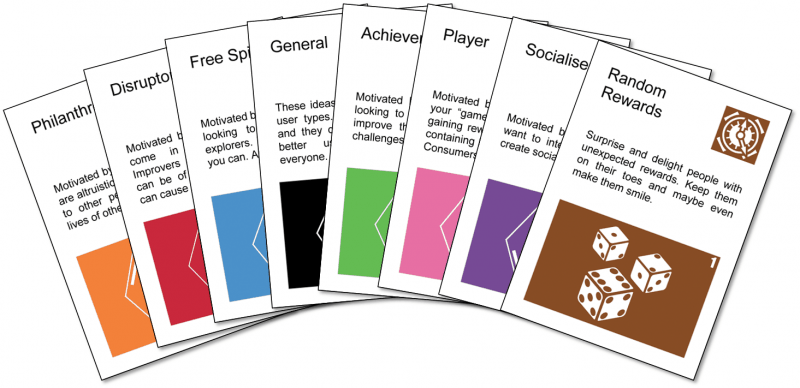 New cards e1542982980507 Gamification Inspiration Cards
