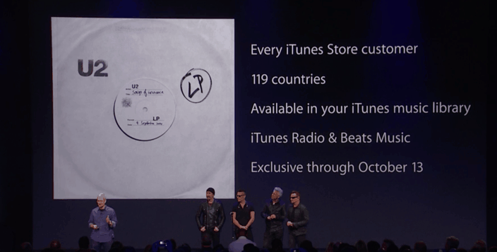 U2 itunes 2 major lessons Apple has just taught us about loyalty
