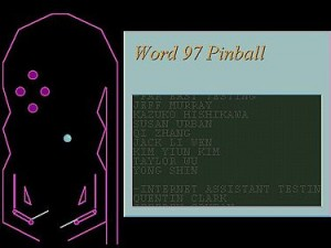 Word97pinball 300x225 Word97pinball