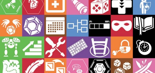 Random icons 520x245 48 Gamification elements mechanics and ideas