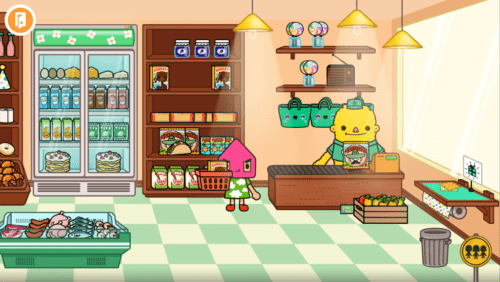 Toca Town Shop