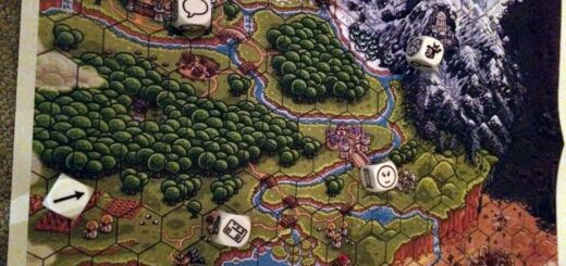 Cubes and fantasy map 520x245 Unleash your creativity with Story Cubes