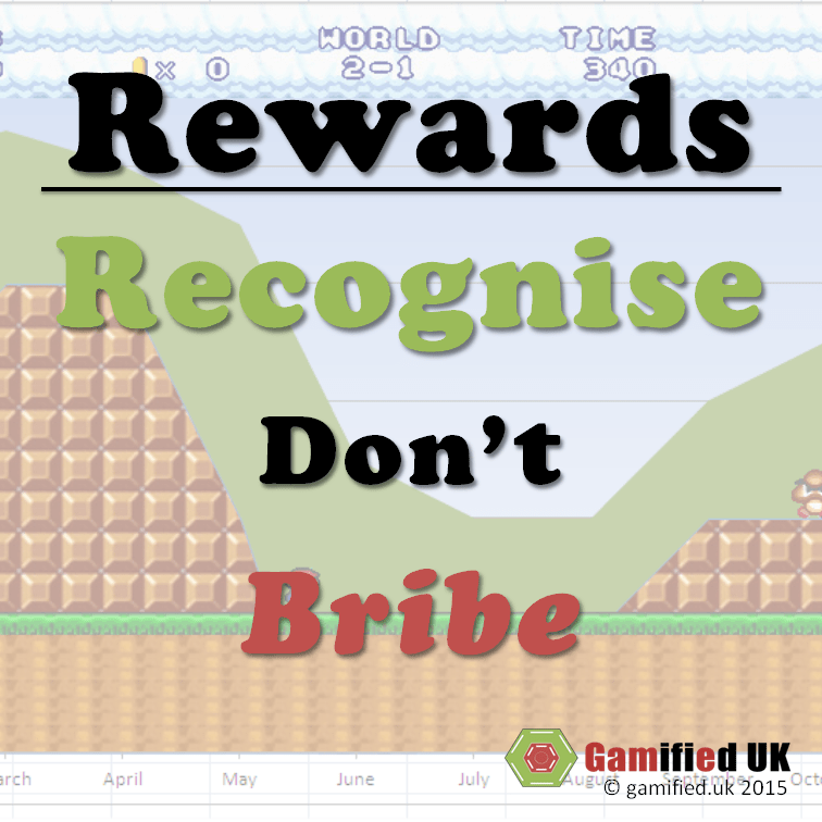 Rewards: Recognise Don't Bribe