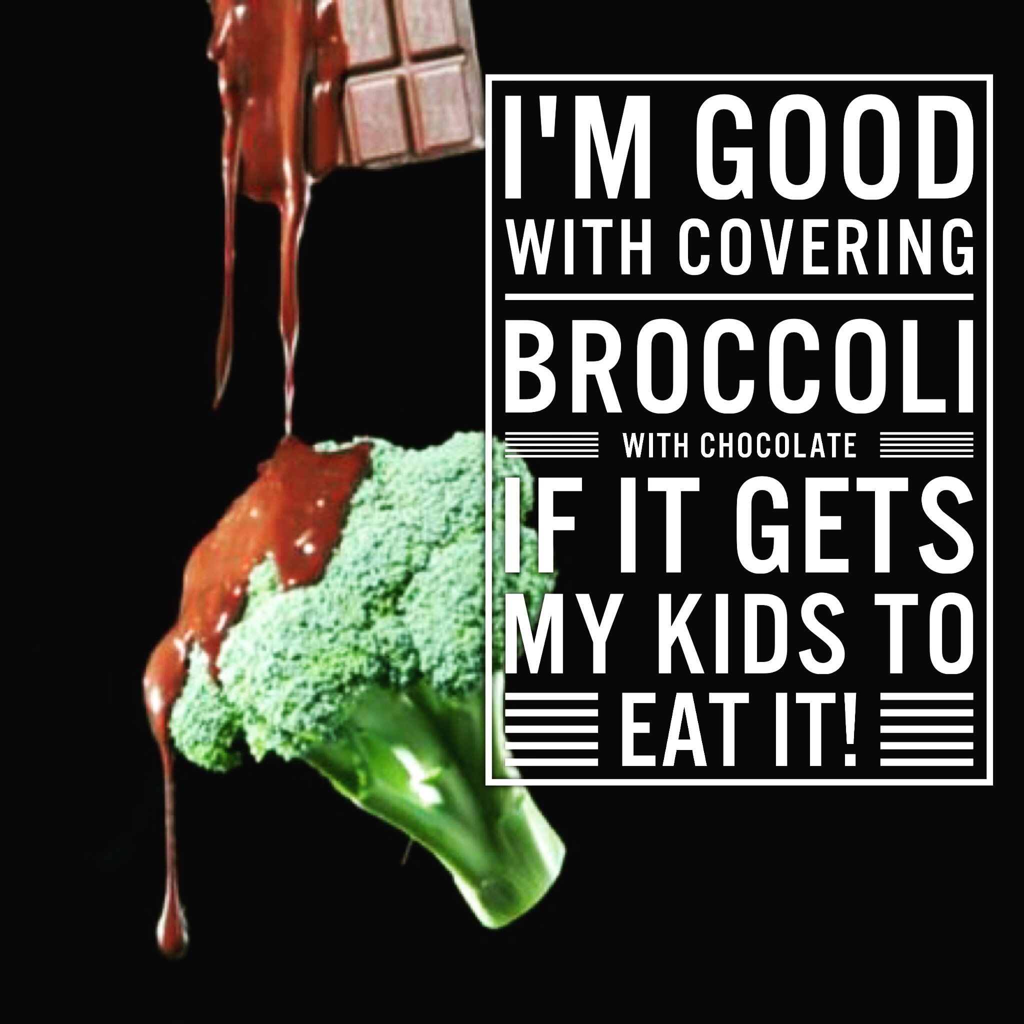 Seriously - I will do anything to get my kids to eat veg.