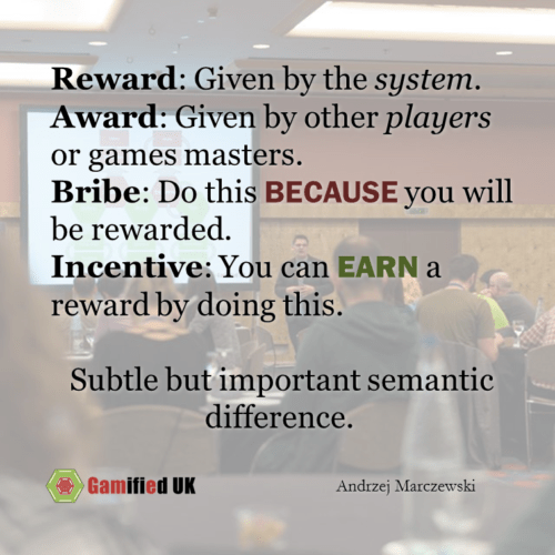 Bribes vs Incentives
