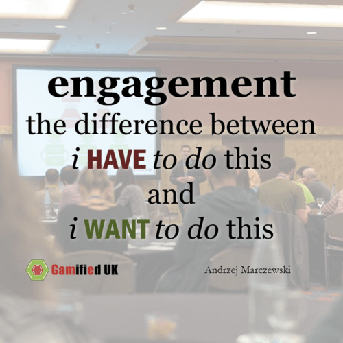Engagement is...