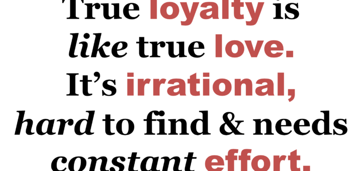 True loyalty meme 720x340 A Story of Loyalty Gamification World Congress 2015 Talk