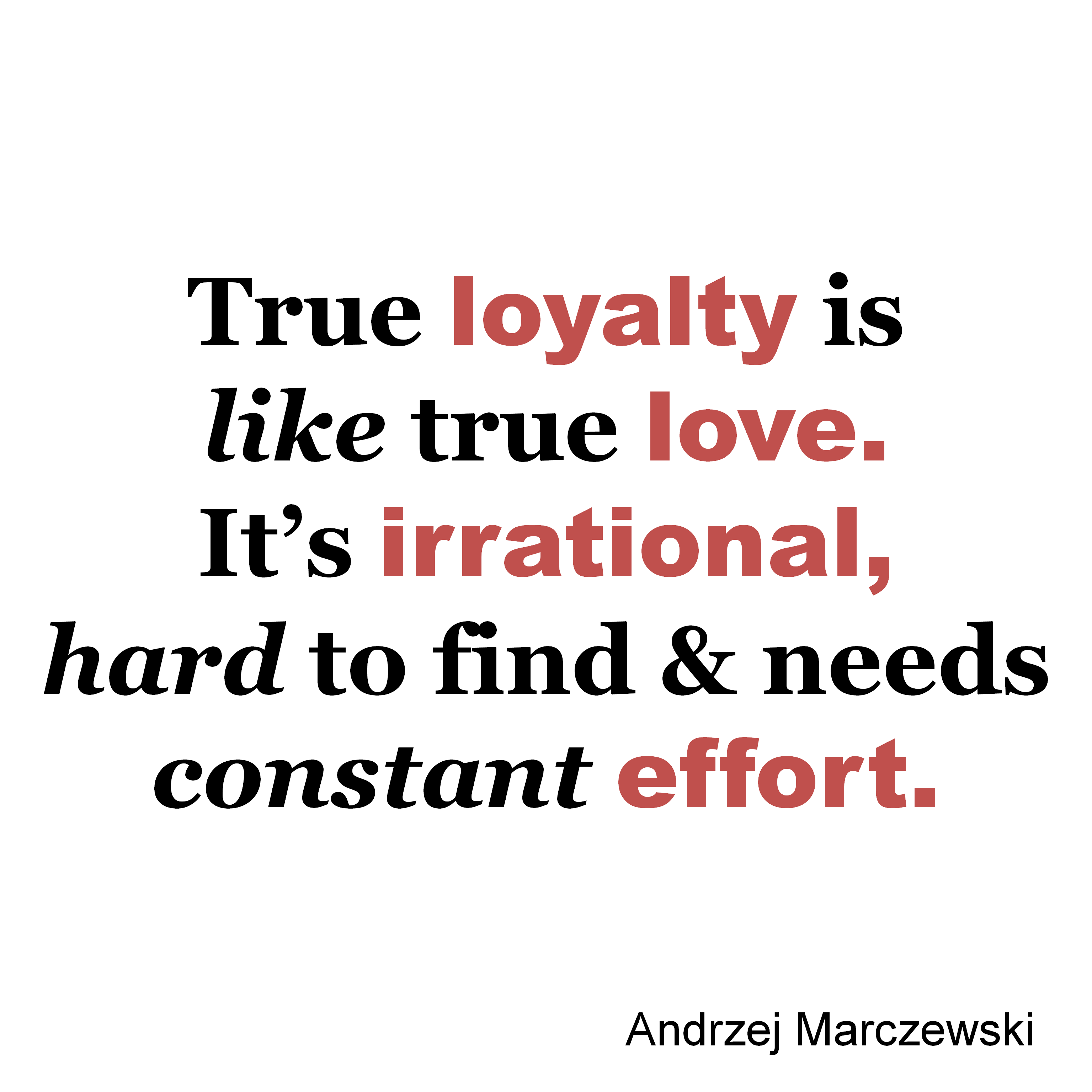 true loyalty meme