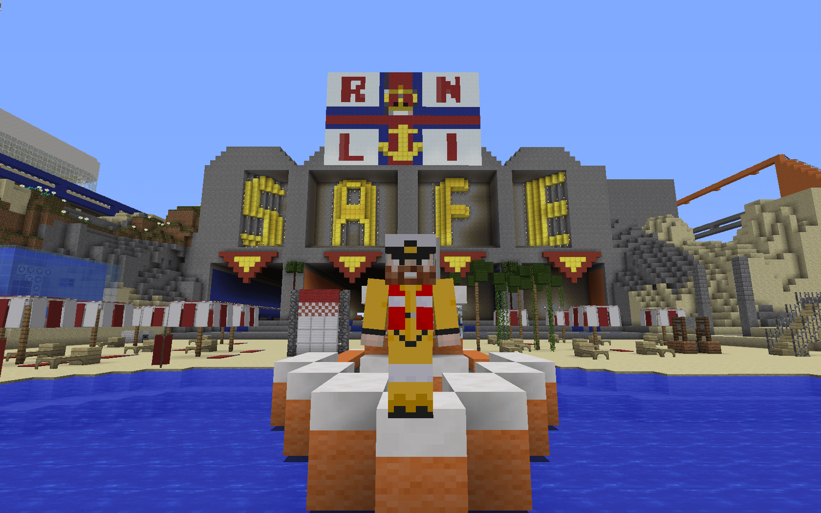 Image News RNLI creates Minecraft beach survival game to teach water safety to children