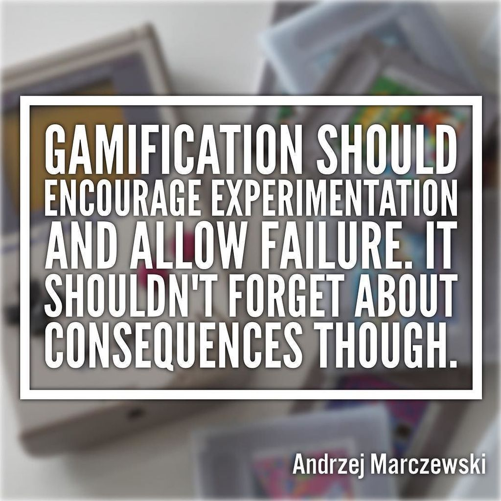 Consequences Consequences A missing component in Gamification