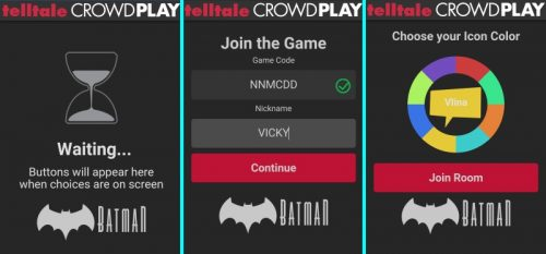 Batman the telltale series crowd play smartphone 500x233 Batman Crowdplay