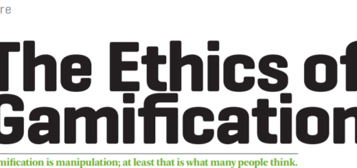 Ethics in gamification 520x245 Ethics in Gamification