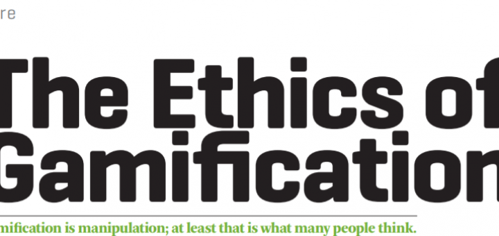 Ethics in gamification 720x340 Ethics in Gamification