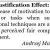 Underjustification Effect