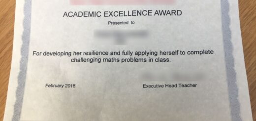 Academic excellence award 520x245 Meaningful Specific Rewards