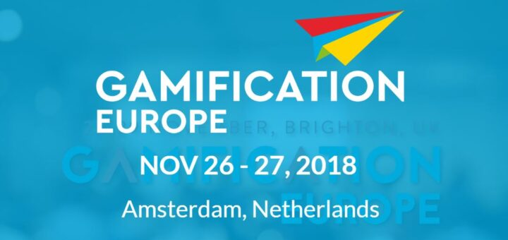 Gamification Europe 720x340 I 8217 m Speaking at Gamification Europe 8211 Come Watch with 10 off