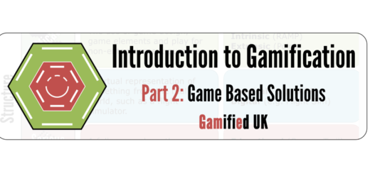 Instroduction to Gamification Part 2a 520x245 Introduction to Gamification Part 2 Game Based Solutions