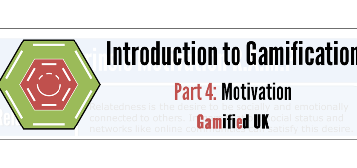 Intro to Gamification Part 4 720x340 Introduction to Gamification Part 4 Motivation R A M P Maslow SDT and more