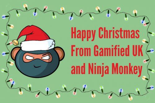 Merry Christmas Monkey 500x333 Merry Christmas Monkey