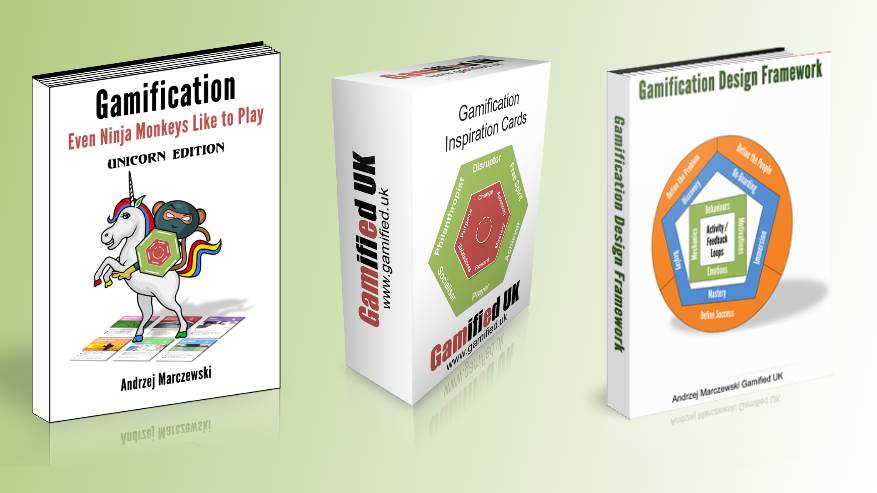 Bundle 20 Gamified UK Gamification Bundle Book Cards and Toolkit